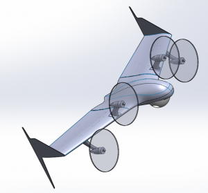 UAV Convertible VTOL
